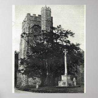 Chilham Parish Church, Canterbury Poster