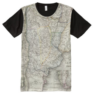 Chili, Argentina, South America All-Over Print T-shirt