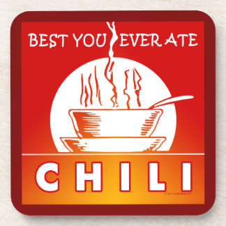 CHILI: Best You Ever Ate Coaster