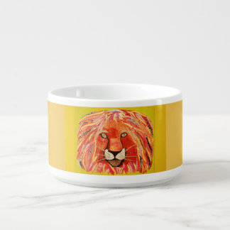 Chili Bowl with Bold Lion