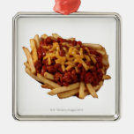 Chili cheese fries christmas ornament