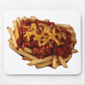 Chili cheese fries mouse pad