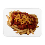 Chili cheese fries vinyl magnets