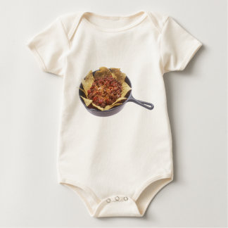 Chili Cheese Nachos Baby Bodysuit