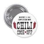 Chili Cook Off 1 Inch Round Button