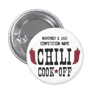 Chili Cook Off Pinback Button