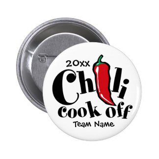 Chili Cook Off Pinback Button