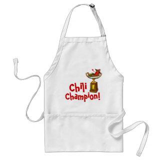 Chili Cook-Off Champion Apron
