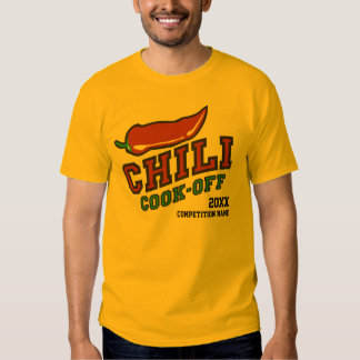 Chili Cook Off Competition Shirts