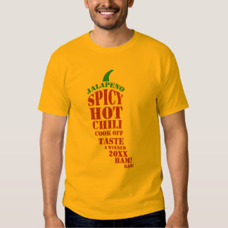 Chili Cook Off Competition T Shirts
