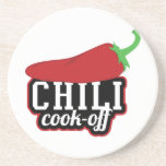 Chili Cook-Off Drink Coasters