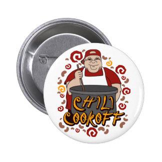 Chili Cookoff 2 Inch Round Button