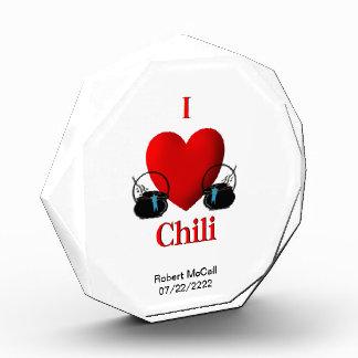 Chili Cookoff Award