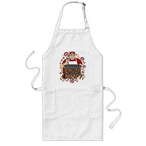 Chili Cookoff Long Apron