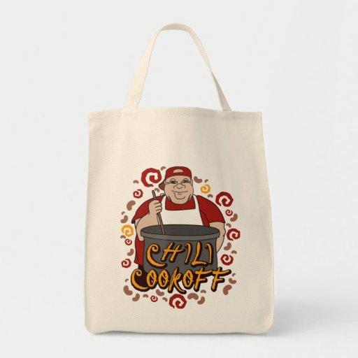 Chili Cookoff Tote Bag