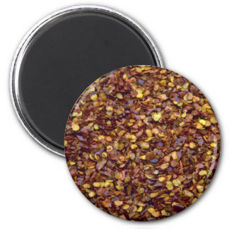 Chili flakes fridge magnet