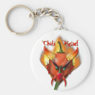 Chili Head Devil Keychain