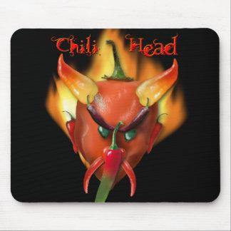 Chili Head Devil Mouse Pad