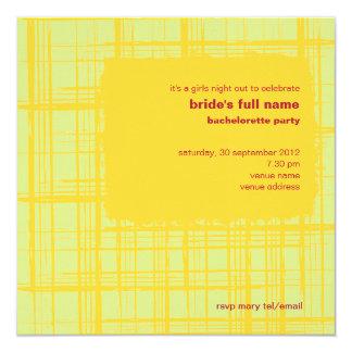 Chili Lemon Bachelorette Party Invitation