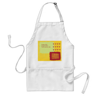 Chili Lemon Wedding Apron