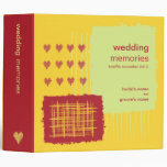 Chili Lemon Wedding Memories Binder