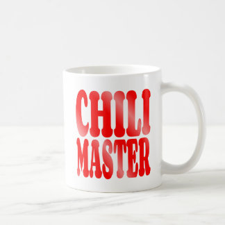 Chili Master in Red Mugs