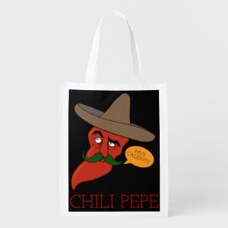 Chili Pepe Reusable Grocery Bag