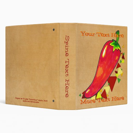 Chili Pepper Binder