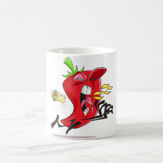 Chili Pepper Breathing Fire Mug
