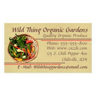 Chili Pepper Business Card
