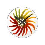 Chili Pepper Clock