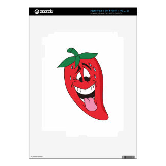 Chili Pepper Decals For iPad 3