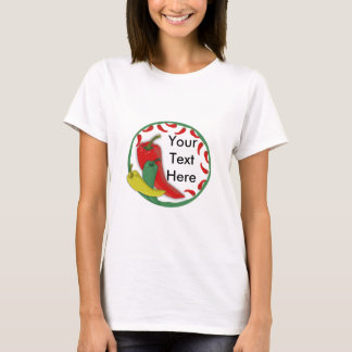 Chili Pepper Group Circle Frame3 T-Shirt