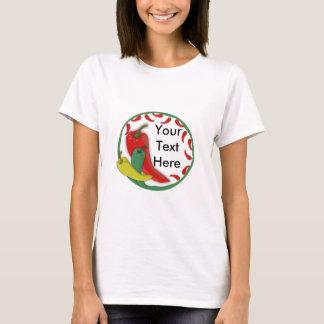Chili Pepper Group Circle Frame3 T-Shirt