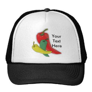 Chili Pepper Group Hats