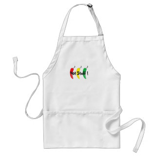 chili pepper, Hot Suff ! - Customized Adult Apron