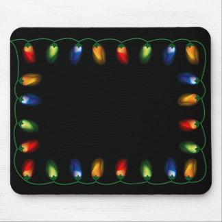 Chili Pepper Lights Mousepad