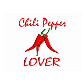 Chili Pepper Lover Postcard