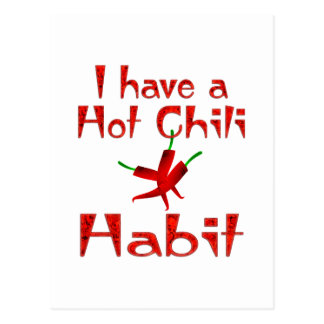 Chili Pepper Postcard
