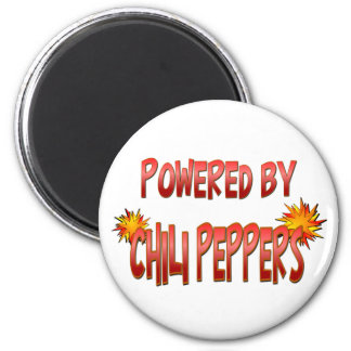 Chili Pepper Power 2 Inch Round Magnet