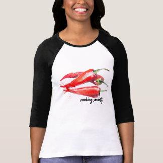 Chili Pepper Raglan - Women's Shirt