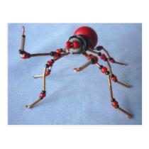 Chili Pepper Spider Postcard