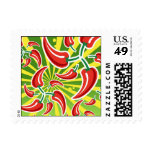 Chili Pepper Stamps