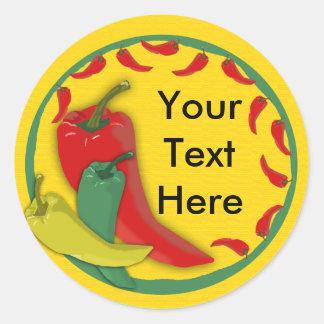 Chili Pepper Sticker