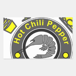 Chili Pepper Rectangular Sticker
