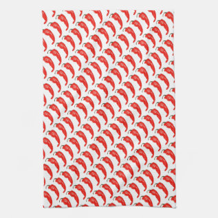 Chili Pepper Towel at Zazzle