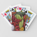 Chili Peppers Bicycle Poker Cards