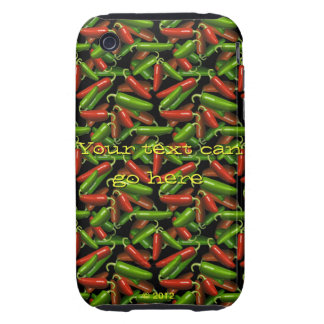Chili Peppers Tough iPhone 3 Cover
