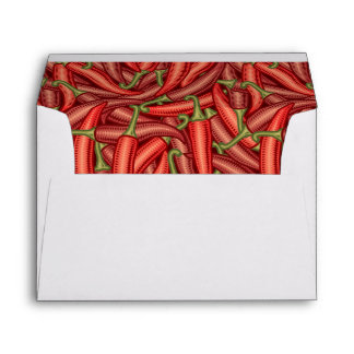 Chili Peppers Envelope