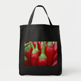 Chili Peppers Grocery Tote